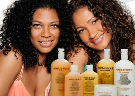 mixed chicks hair products was created by two mixed chicks